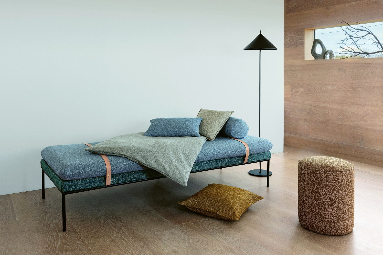 Image of eco-friendly fabrics by Kirkby Designs to illustrate how to tackle the big issue interior design, sustainability