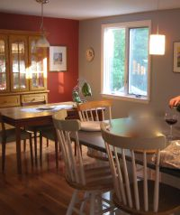 Stylish Home Design Ideas: Burnt Orange Kitchen Walls