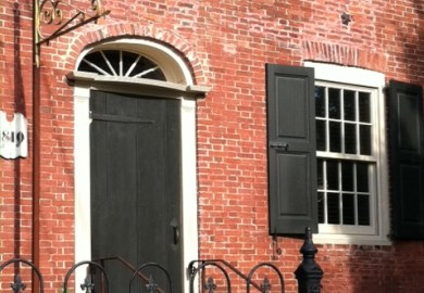 Brick Historic House Trim Shutters And Roof Made Easy