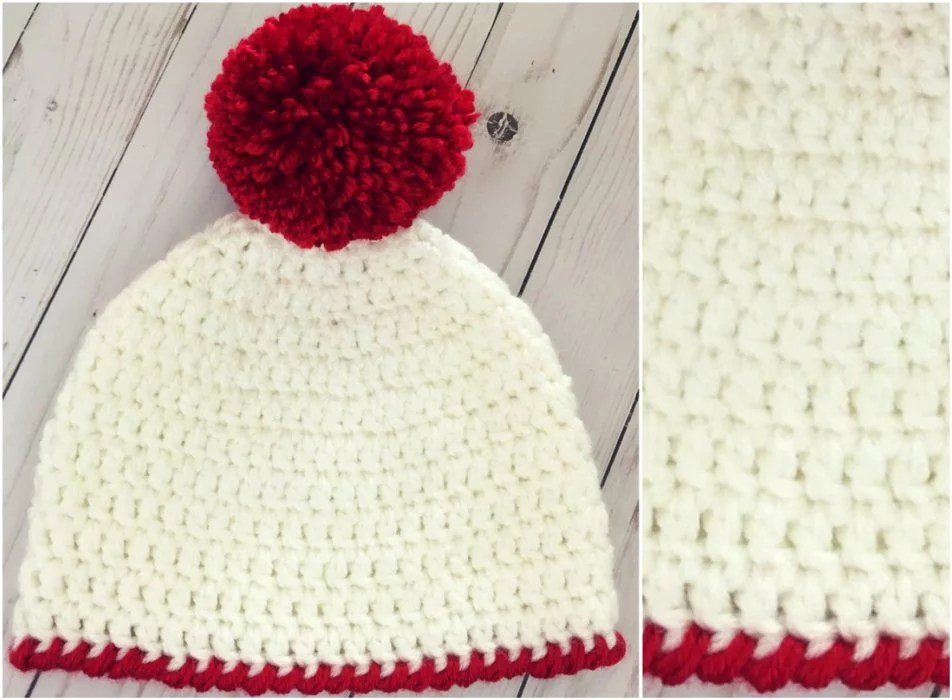 Easy Peasy 30 Minute Beanie Free Crochet Pattern Your