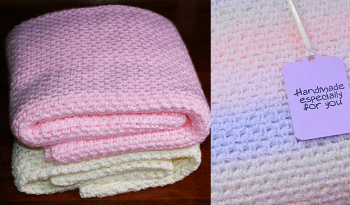 Fast and Easy Baby Blanket Free Pattern  Your Crochet