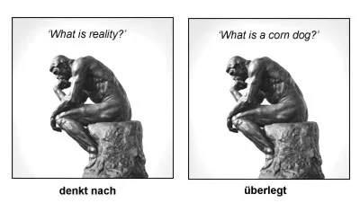 difference berlegen nachdenken  German is easy