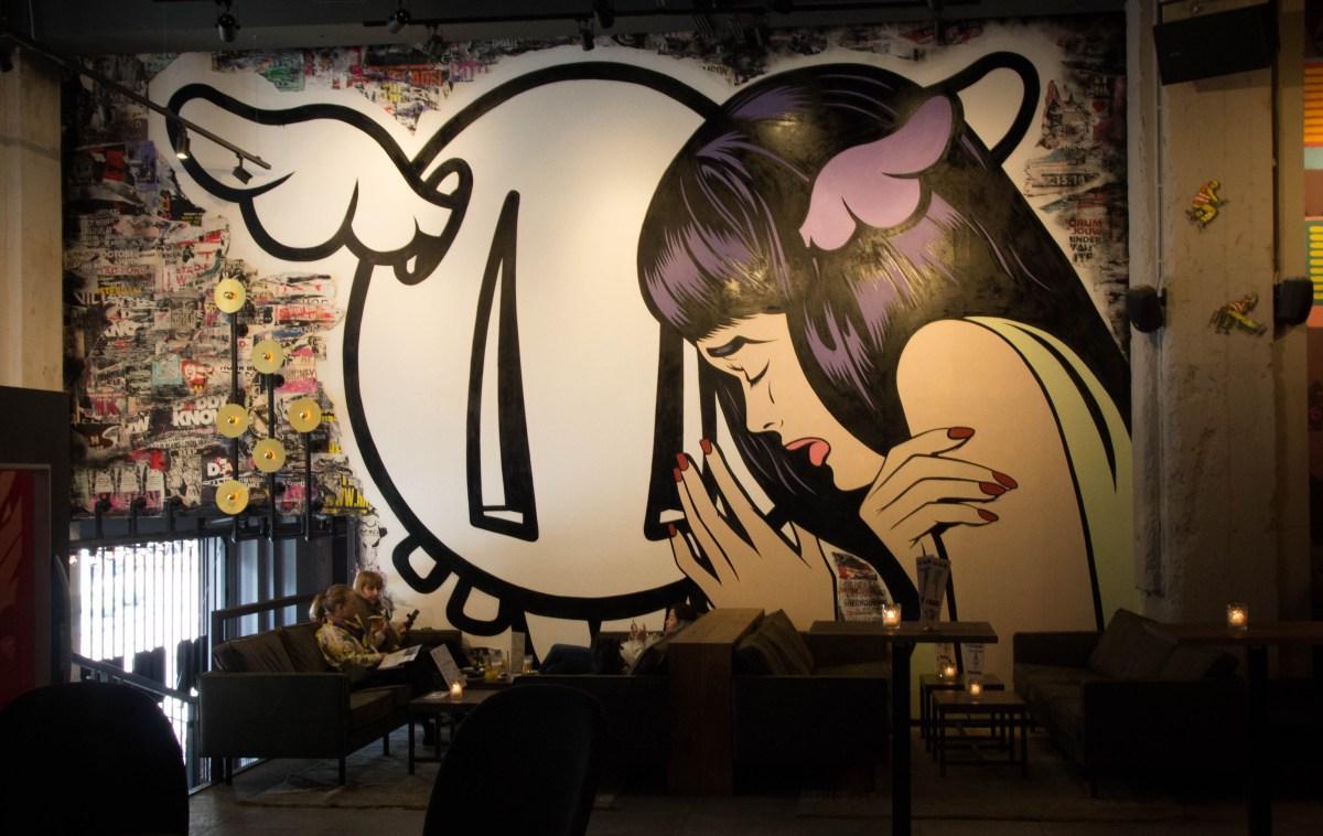 foto muur bajes
