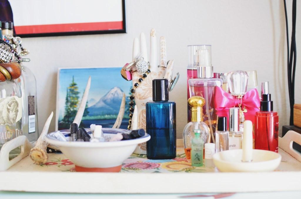 Fragrance hoarder, too.