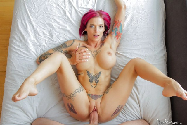 Anna Bell Peaks - The Art of Flesh in PureMature
