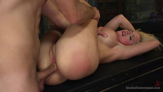 Alena Croft - The Captive Slut Under The Stairs