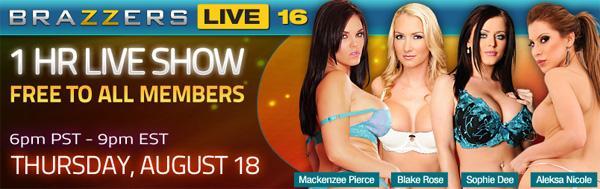 Brazzers Live 16