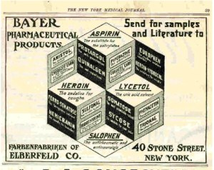 bayer containing heroin before the war on drugs and the war on the poor