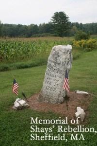 shays rebellion memorial
