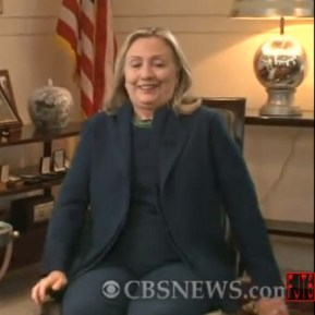 "H. Clinton in an interview with CBS - occasion for the Shakespeare quote, ""To unmask falsehood and bring truth to light,"""