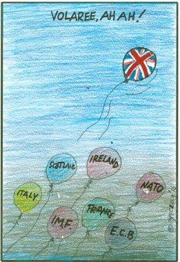 Apicella cartoon on Brexit