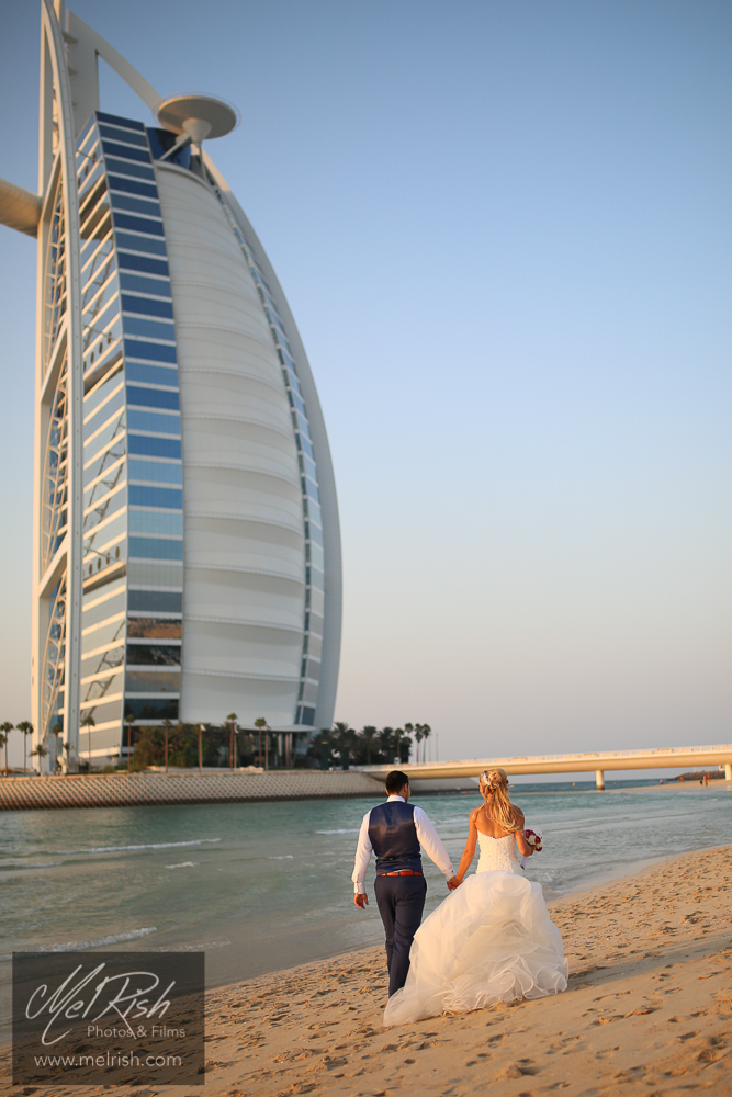 burj al arab love wedding dubai