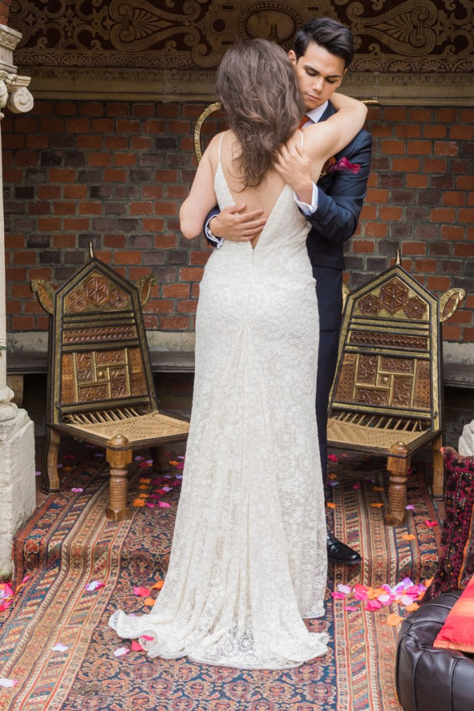 wedding shoot london mr mrs
