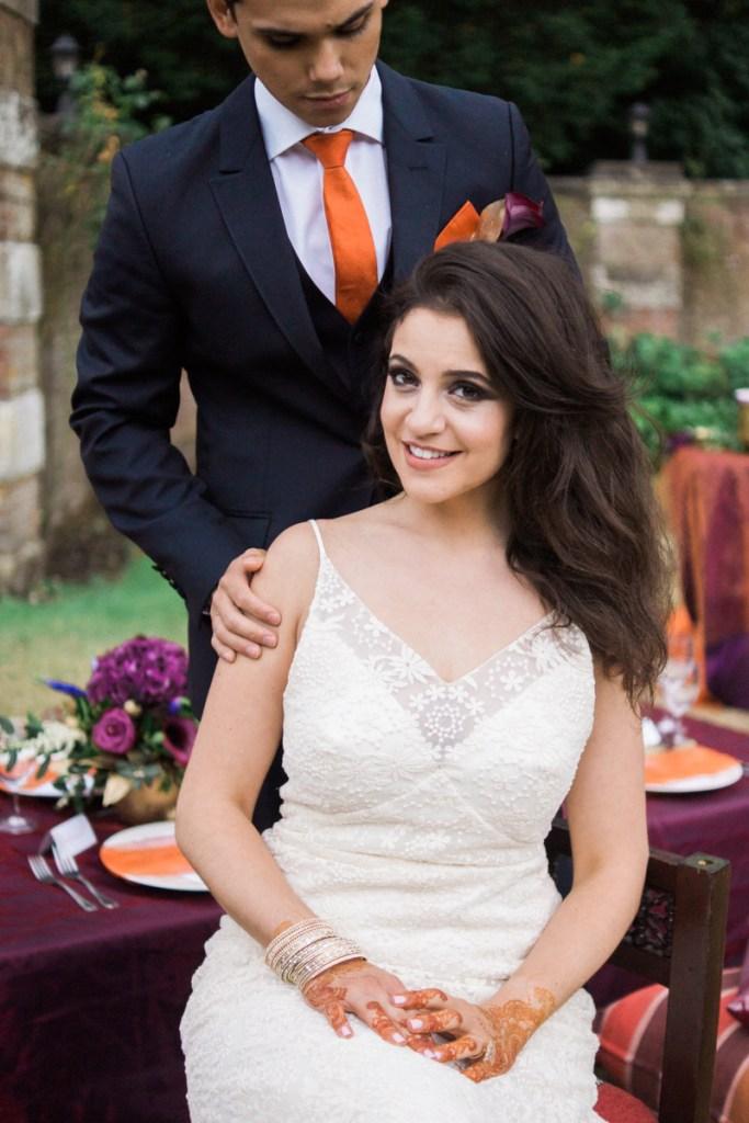 wedding dress mr mrs