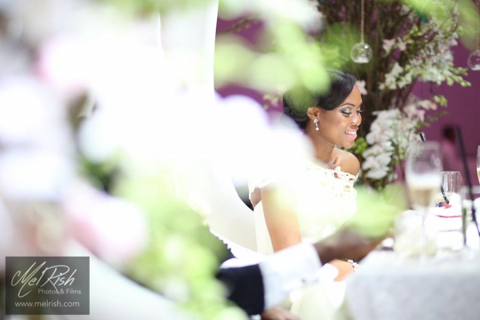 bride make up decor married wedding dubai nigerian