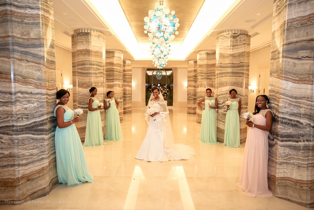 bridesmaids wedding dubai photography four seasons planner