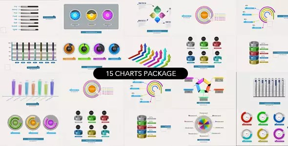 15 Charts Package Video Infographic