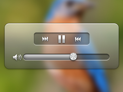 free download video player ui psd