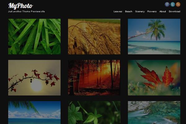 MyPhoto theme