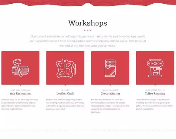 23 Examples of Flat Websites