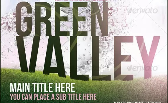 Green-valley-premium-print-ready-flyers