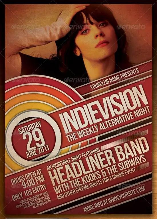 Indie Flyer Poster Vol 7