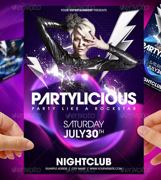 Free Party Flyer Templates Choice Image Template Design Ideas