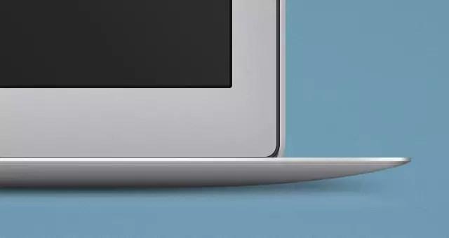 Free MacBook Air Psd Mockup