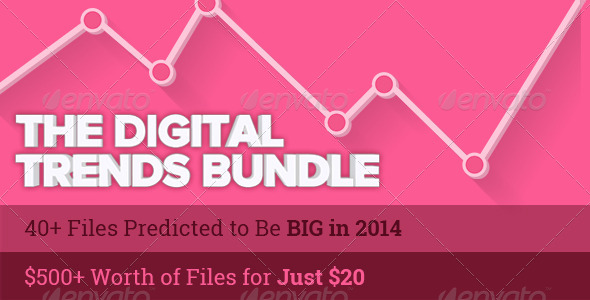 The Digital Trends Bundle 2014 is on for 2 Weeks! - Infographics
