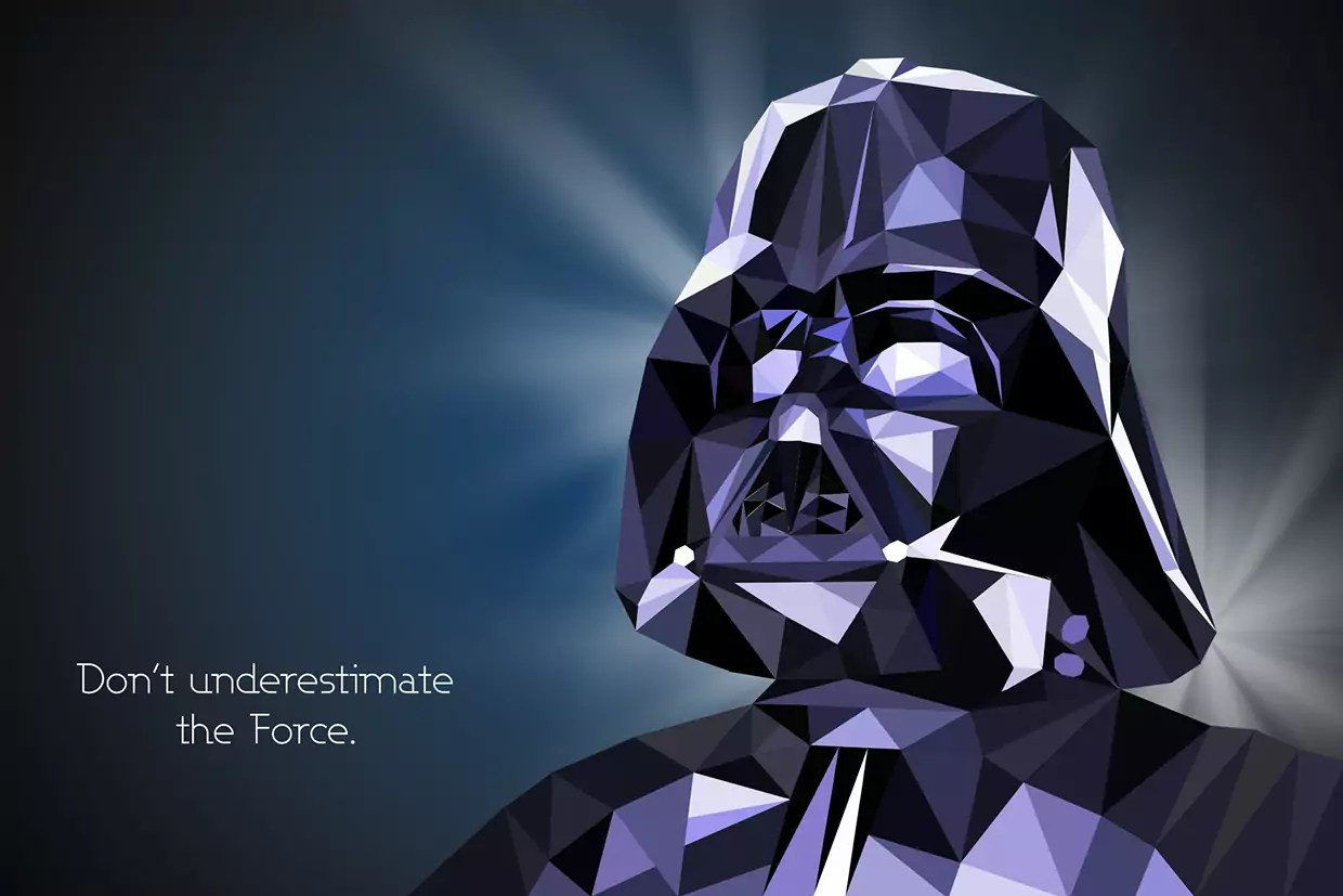Low Poly Star Wars Portraits