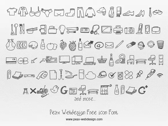 20 Awesome Icon Fonts to Use in Your Designs