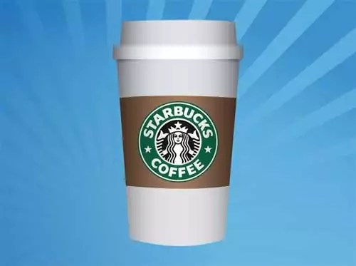 free starbucks coffee cup packaging design templates