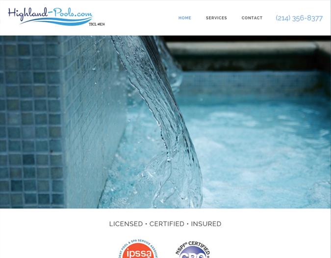 Portfolio Image of Highland Pools