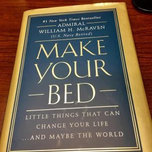 make your bed book review