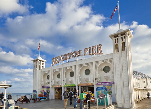 The Great British Seaside Brighton Pier