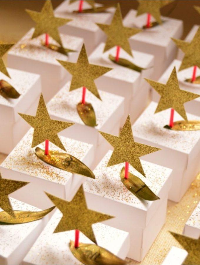 DIY stars advent calendar