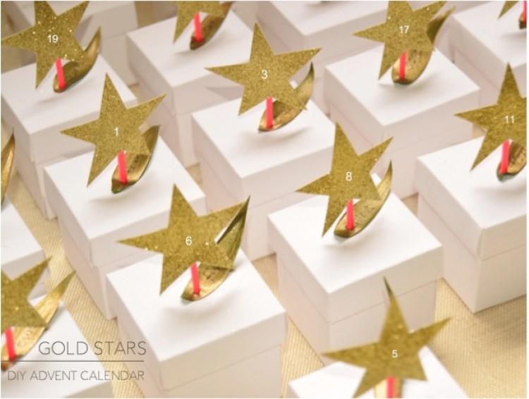 """DIY stars advent calendar"""