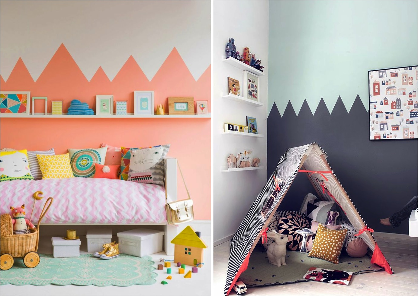 Fun and creative paint ideas for your walls