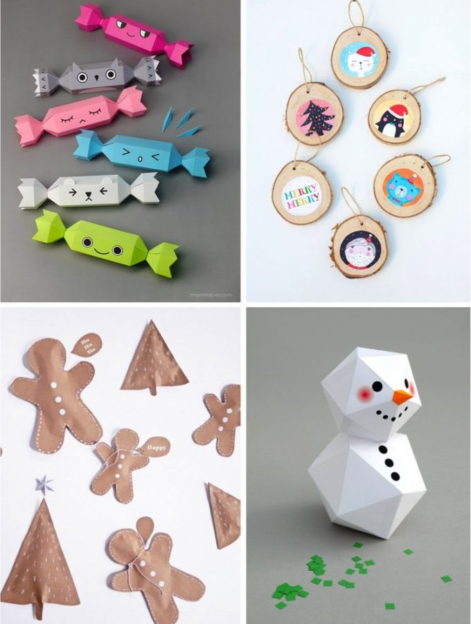 4 easy Christmas crafts for kids