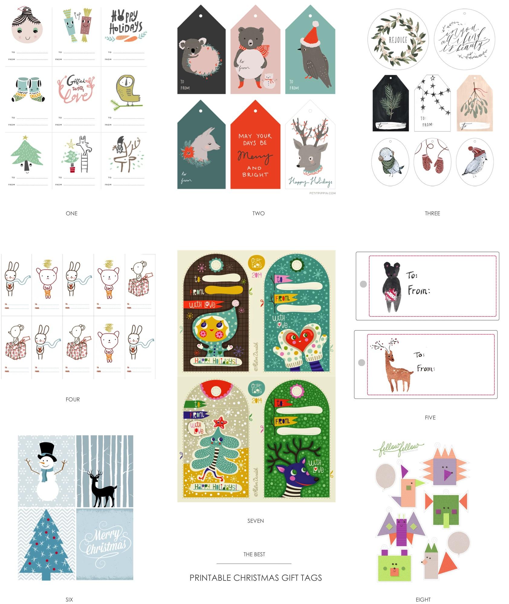 Free Printable Chrismas Gift Tags Diy Home Decor Your Diy Family