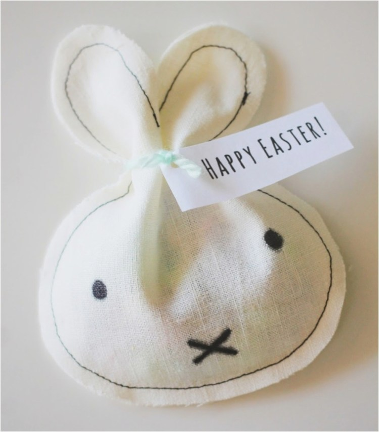 DIY miffy bag easter