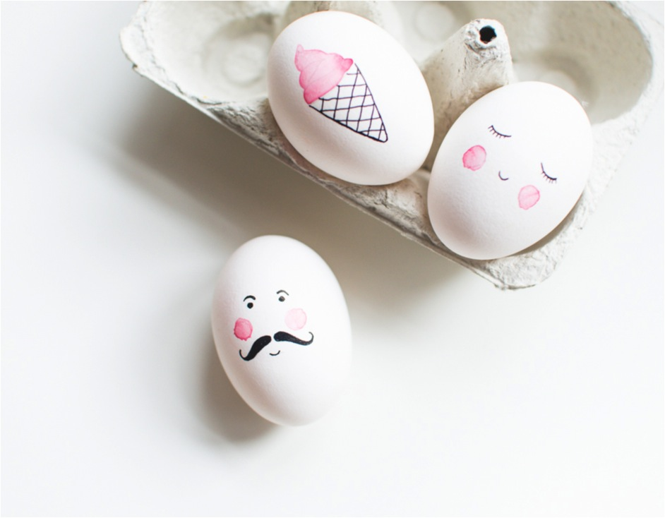 Egg Character Design Ideas : Fun easter egg decorating ideas diy home decor your