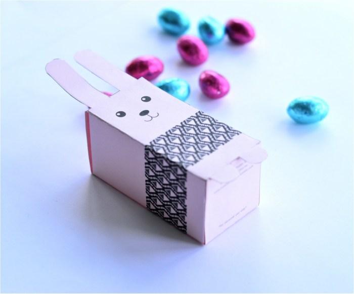 free easter treat box printable