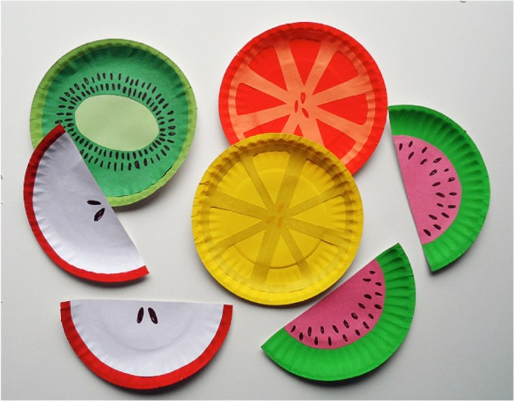 fruit crafts for kids