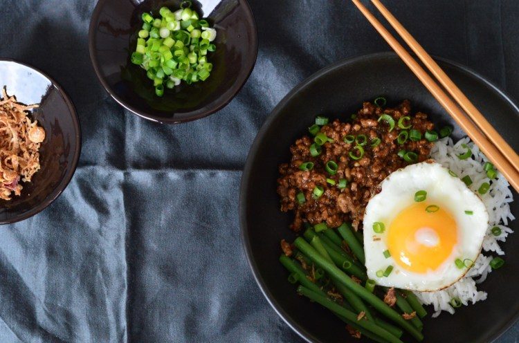 Taiwanese minced pork recipe