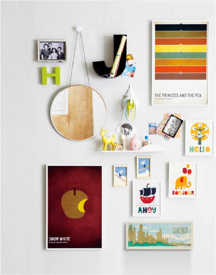 gallery wall how to ideas