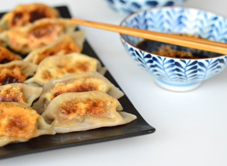 Chinese pork dumplings recipe