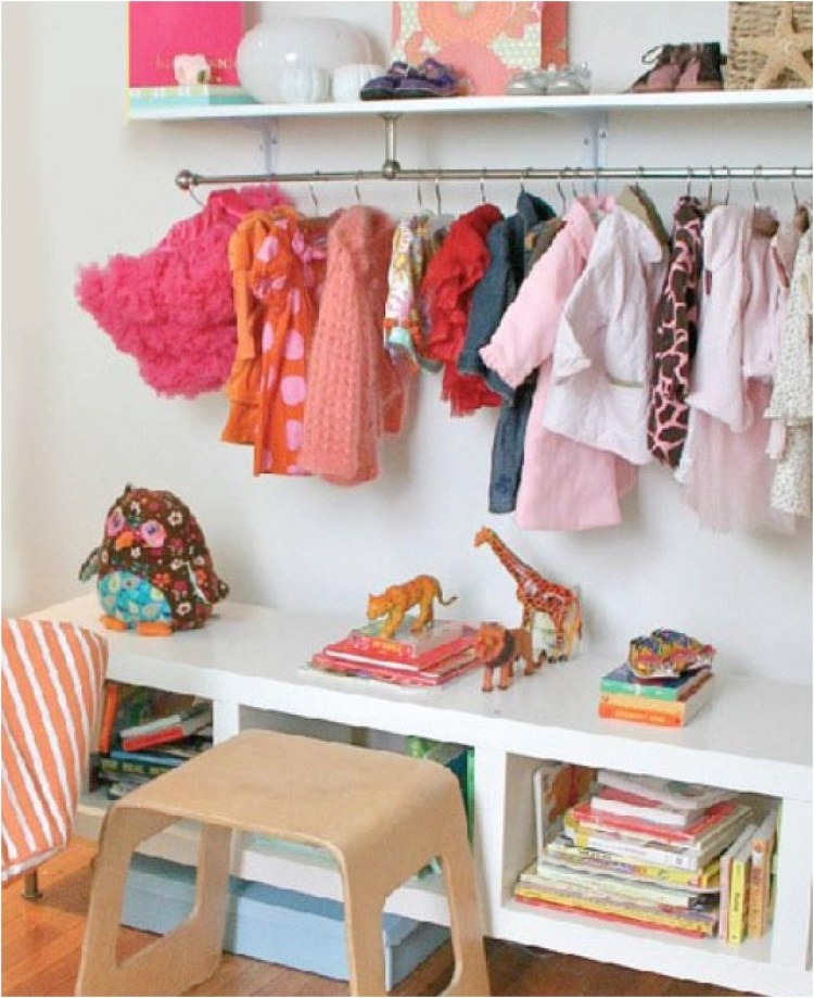 how to organise kids rooms