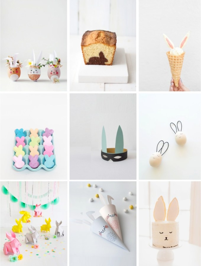9 of the cutest Easter bunny crafts