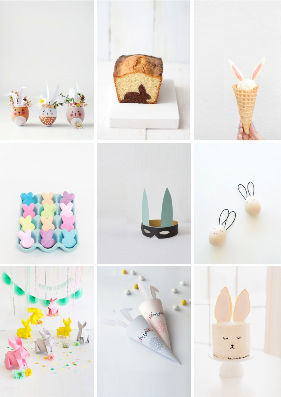 9 of the best Easter bunny crafts